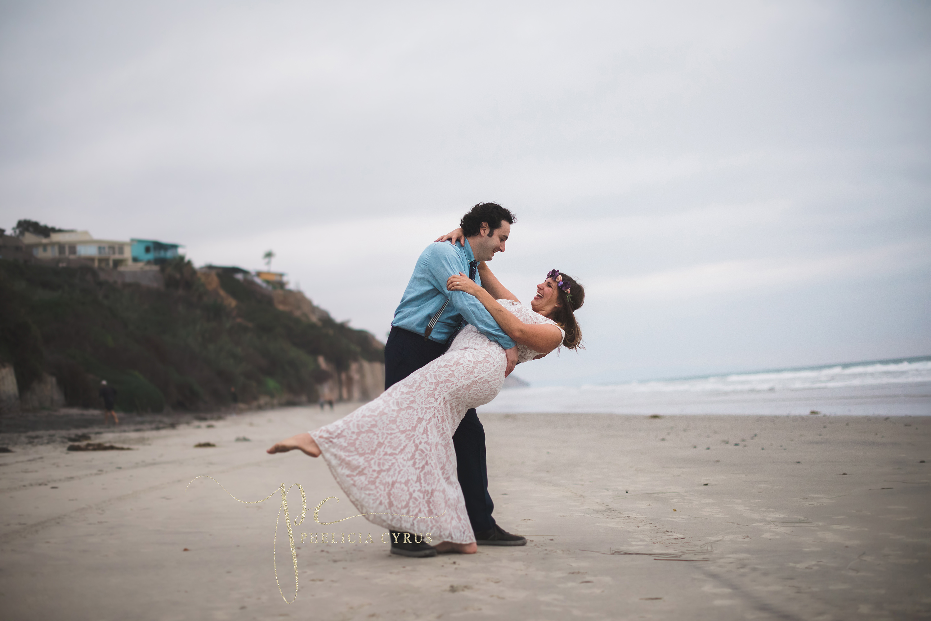 Destination Wedding on the Beaches of Encinitas, CA