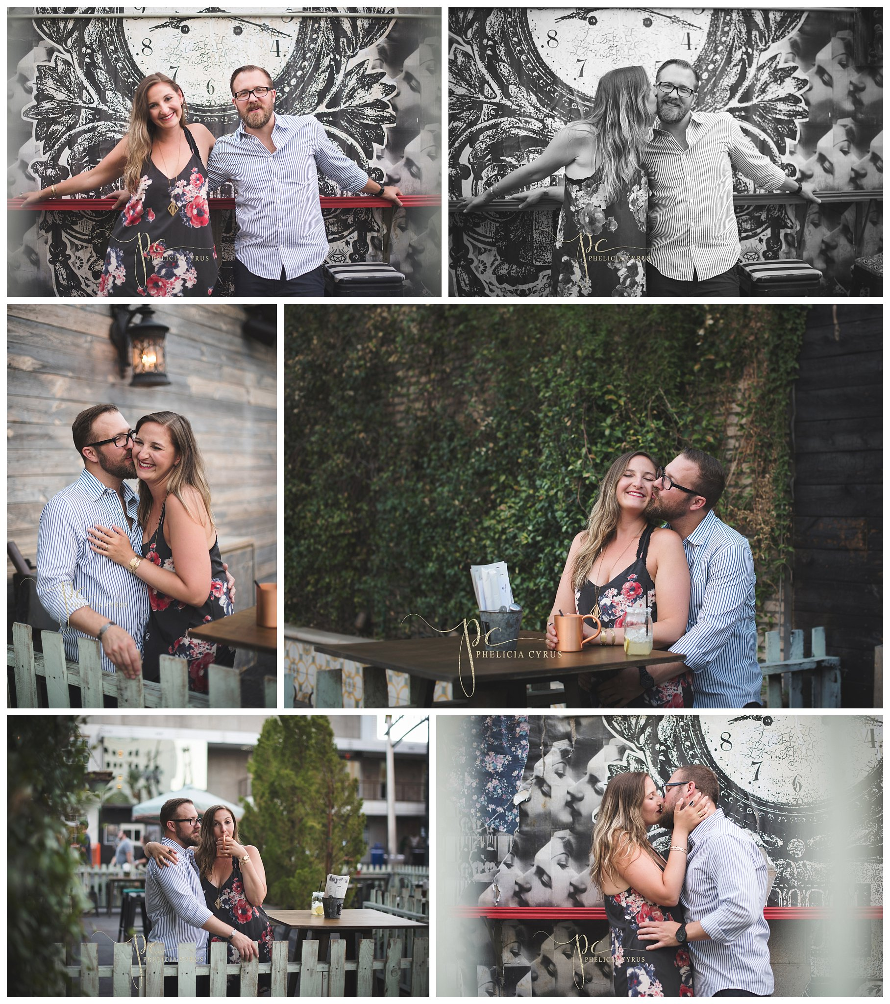 Downtown Las Vegas Engagement Session